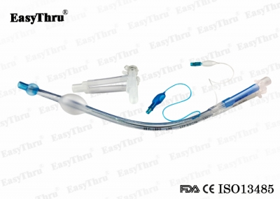 Disposable Medical Double Lumen Endobronchial Tube Left and Right Sided